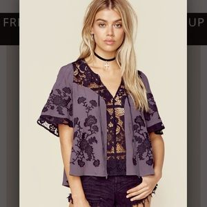 For Love and Lemons Sz XS Isabella Top